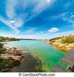 clear water in Porto Cervo, Sardinia