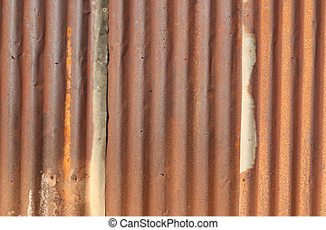 Dark rusty on metal texture