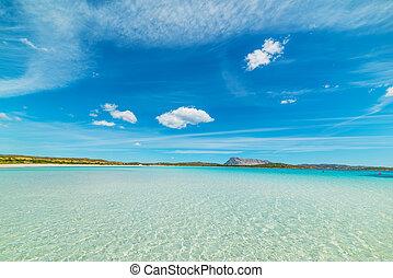 Lu Impostu clear water, Sardinia