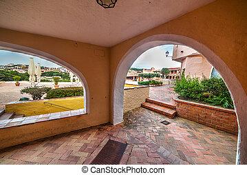 Arches in Porto Cervo, Sardinia