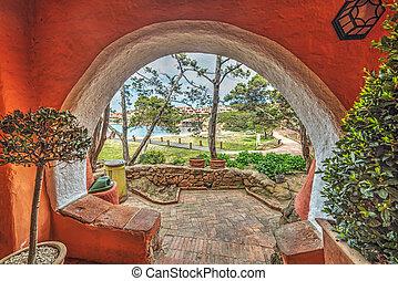 Arch in Porto Cervo, Sardinia