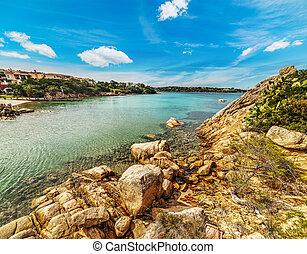 rocks in Porto Cervo, Sardinia