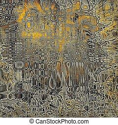 Stylish grunge texture, old damaged background. With...