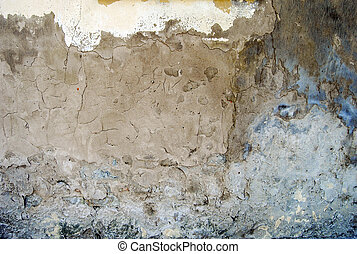 Wall 1280 - Wall of the old house in Dobrica, Banat, Serbia