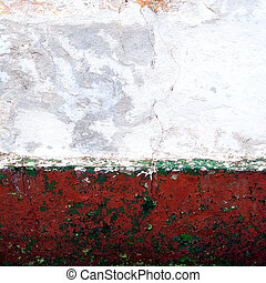 Wall 4222 - Wall of the old house in Dobrica, Banat, Serbia