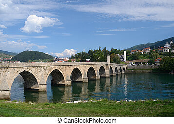 quot;The Mehmed Pasa Sokolovic Bridgequot; Visegrad,Bosnia...
