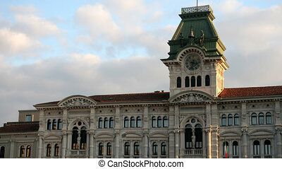 Trieste main Square - Time lapse