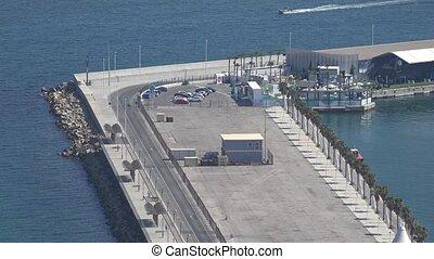 Ocean Pier Or Dock