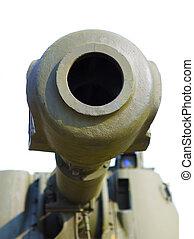 artillería, pedazo, Primer plano