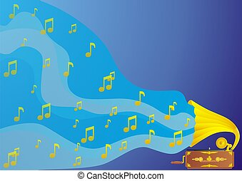 Music - From the old player with music