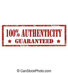 100% Authenticity-stamp