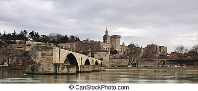 Avignons bridge, Pont dAvignon - The Pont Saint-Bnezet, also...