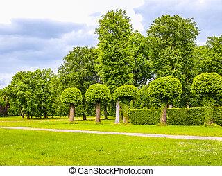 Park Sanssouci in Potsdam HDR - High dynamic range HDR Park...