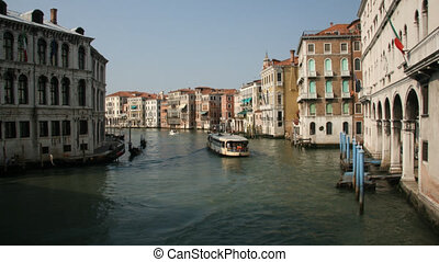 Gran Canal, Venice - Time lapse