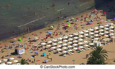 Ocean Beach And Summer Tourism