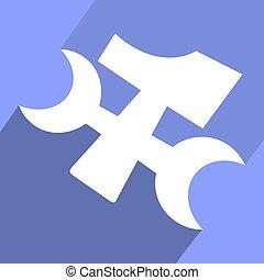 elegant tool symbol - Creative design of elegant tool symbol