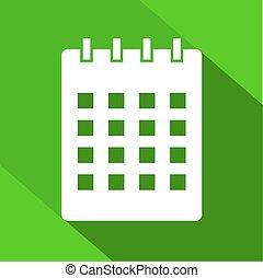 imaginative calendar icon - Creative design of imaginative...