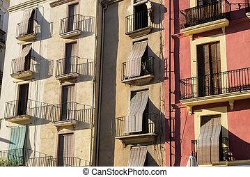 Tarragona, (Spain):, histórico, edificios