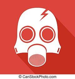 radiation mask symbol - Creative design of radiation mask...