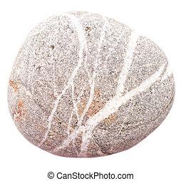 stone on white
