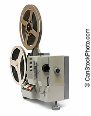 old 8mm projector