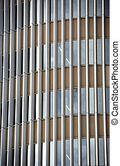 glass facade - Glass facade of a modern office building....