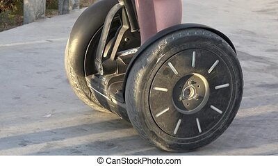Wheels Of Personal Transportation Device