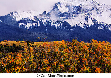 Rocky mountains in Colorado