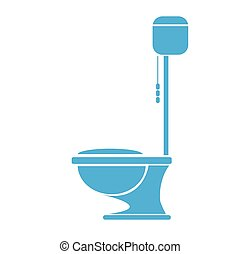 vector Toilet symbol. toilet sign. toilet bowl
