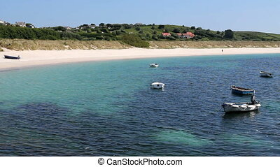 Higher Town bay beach St Martins - Higher Town bay beach St...