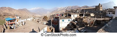 Panoramic view of Jharkot village, one of the best villages...