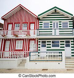 costa,  aveiro,  PORTUGAL,  centro, região,  nova
