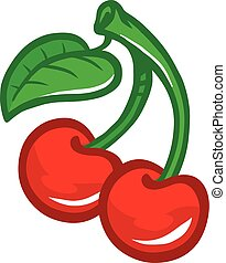Cherry Fruit graphic