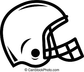 Football Helmet Vector Icon