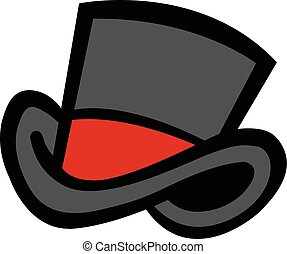 Top Hat Vector Icon