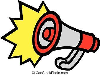 Megaphone Loudspeaker Bullhorn