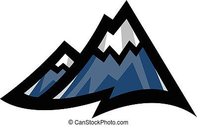 Mountain Range vector icon