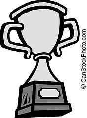 Trophy vector illustration