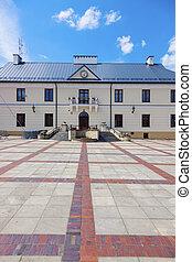 City Hall in Szczebrzeszyn