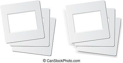 slide photo frames - slide frames for 35mm format, 1 stack...