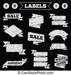Fingerprint icons Identification signs - Stickers, tags and...