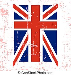 British flag t shirt typography graphics