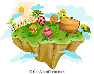 Easter Floating Island
