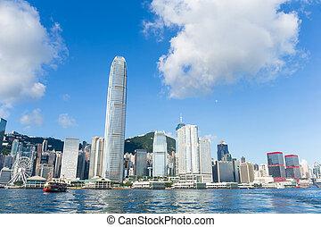 Hong Kong urban city