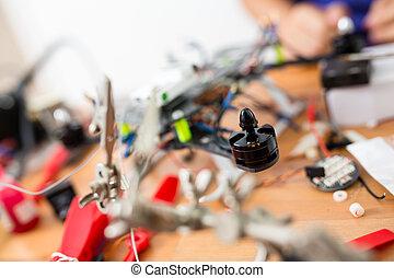 Building drone