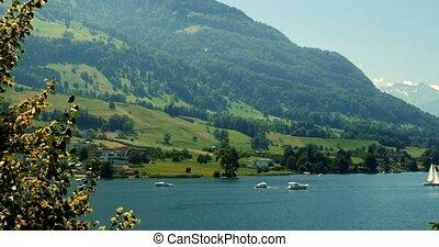 4K, Brienzersee, Switzerland - Graded and stabilized version...