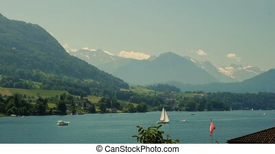 4K, Brienzersee, Switzerland - Graded and stabilized...