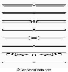 Dividers - Set of dividers