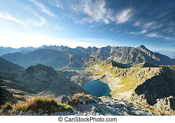 High Tatra Mountains - View from the Swinica Peak on the...