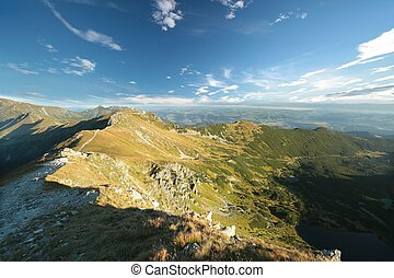 Tatra Mountains near Zakopane - Kasprowy Wierch Peak in...